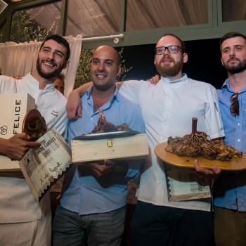 La premiazione di Roots of Tuscany