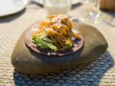 Tortiglia e insalata marinata