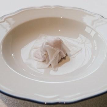 Melanzana marinata, latte di cocco