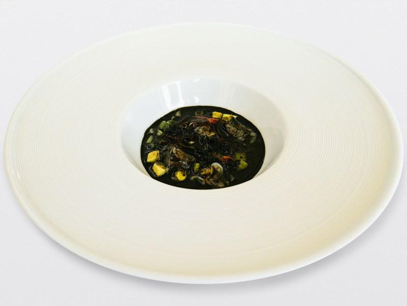 Ulliassi - Seppie, lattuga, avocado, fasolari