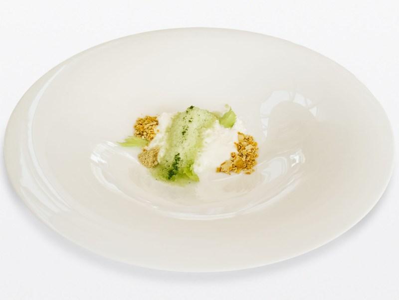 Ulliassi - Sedano, squacquerone, polline