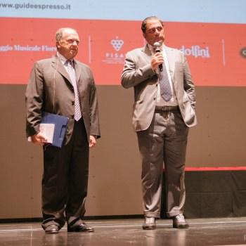 Enzo Vizzari e Marco De Benedetti