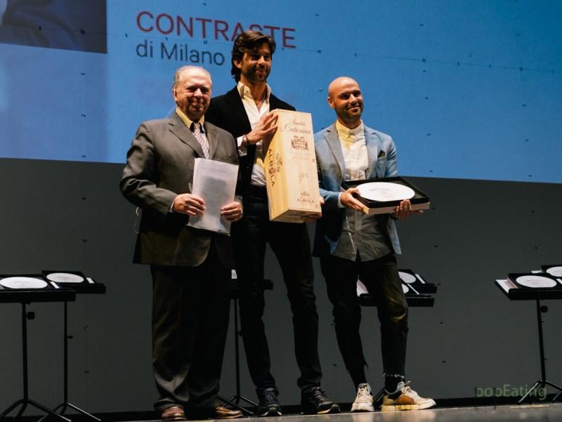 Thomas Piras, Contraste - Premio Zonin per il Maitre dell'anno