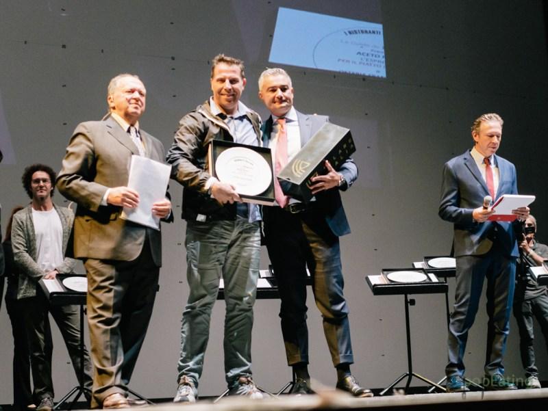 Terry Giacomello, Inkiostro - Premio Filare Italia per l'innovazione in cucina