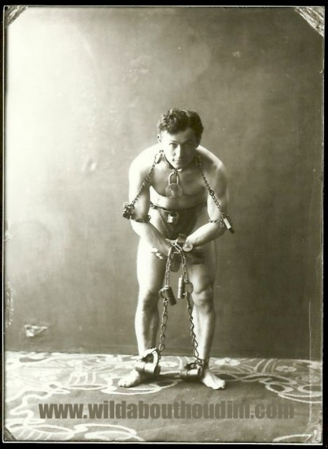 Houdini, Germany, ca. 1902 (John Cox Collection)