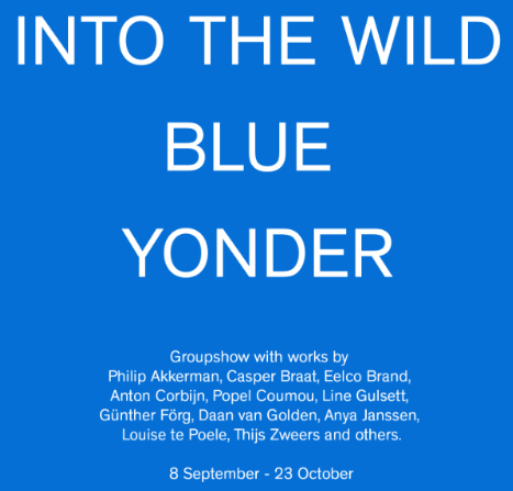 "TORCH Gallery ""Into the wild blue younder"""
