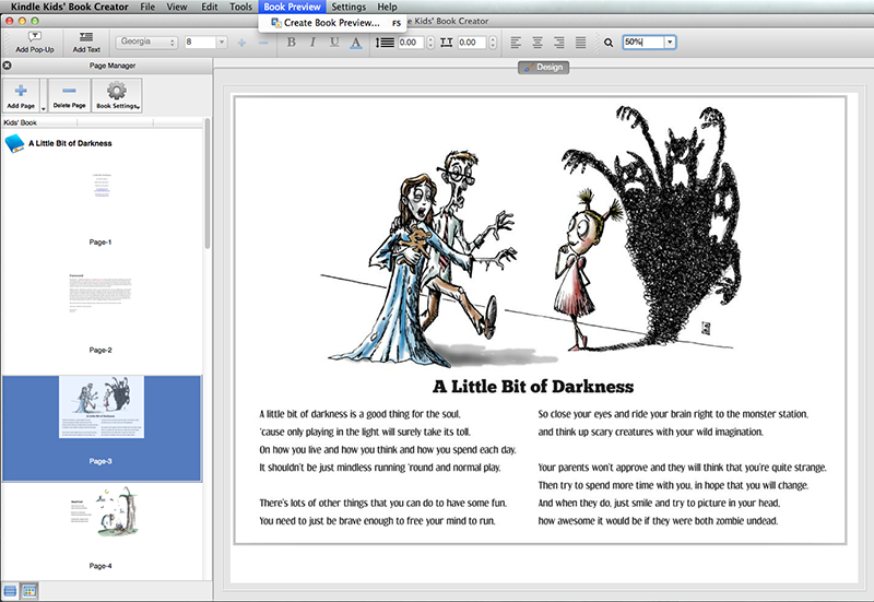 How to Publish an eBook with Kindle Kids Book Creator