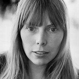 1972: Joni Mitchell during early folk singing days. AP photo.
