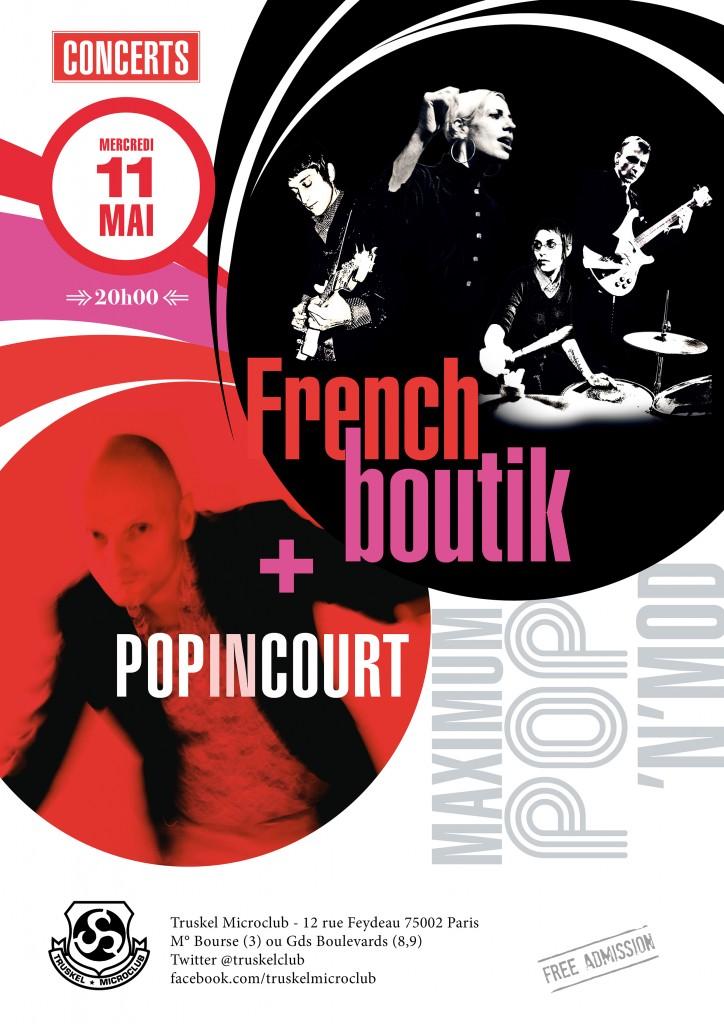 160511 Popincourt & French Boutik @ Truskel