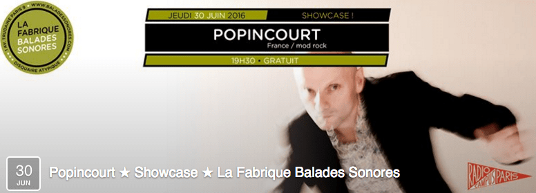 30:06:16 - Showcase @ Balades Sonores - Paris