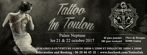Tattoo In Toulon Convention Tatouage Popink Marseille
