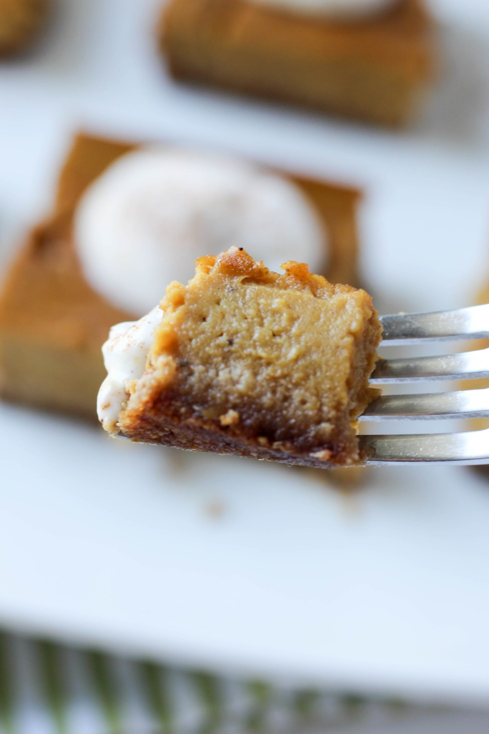 Pumpkin pie glow bars with a diary free coconut crust and adaptogenic herbs // POP KITCHEN