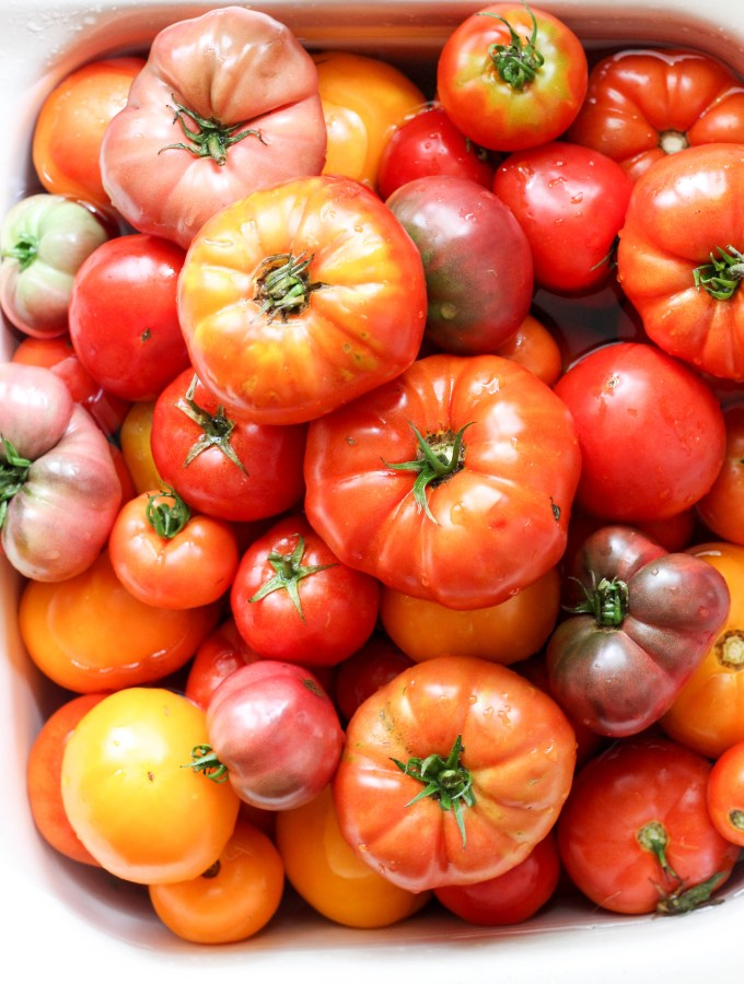 Tomato Recipes- 5 Simple Ways to Use up 40 lbs
