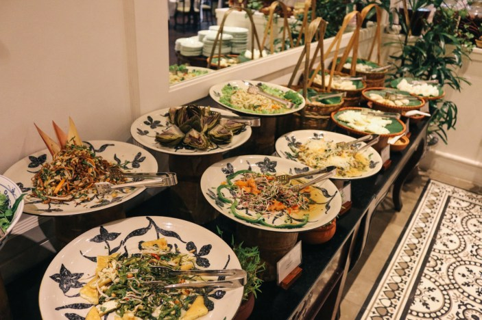 Lunch buffet at Spices Garden