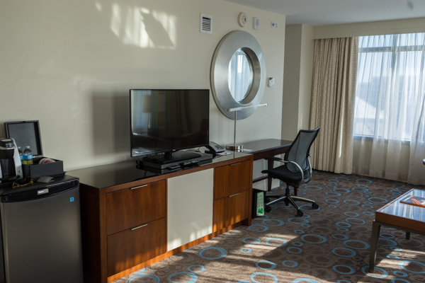 Marriott Marquis DC Suite The Room