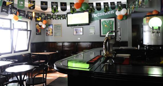 The Blue Pub: típico irlandês com ambiente sofisticado