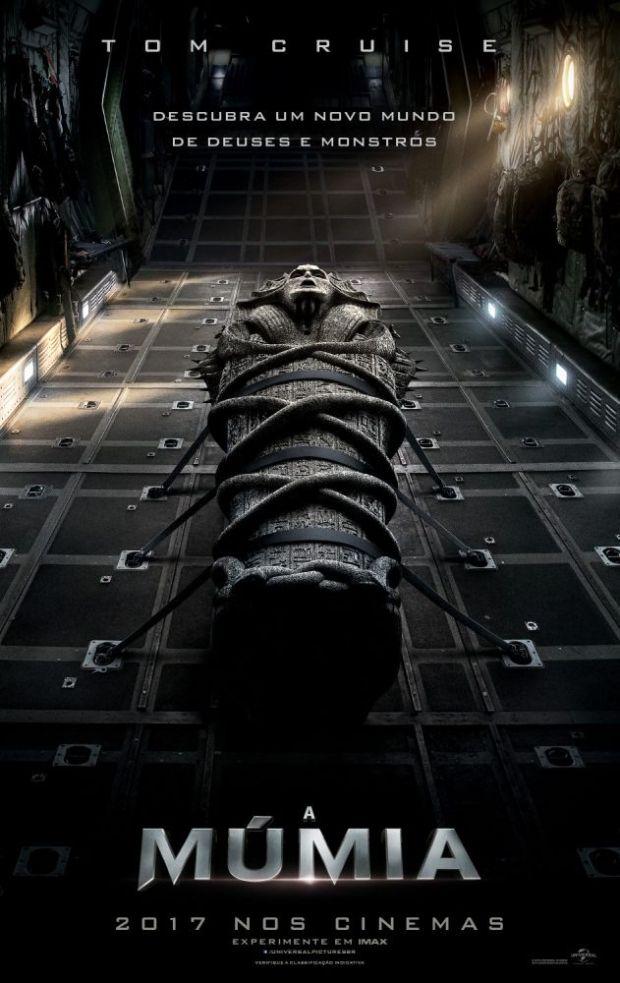 a múmia 2017 poster filme