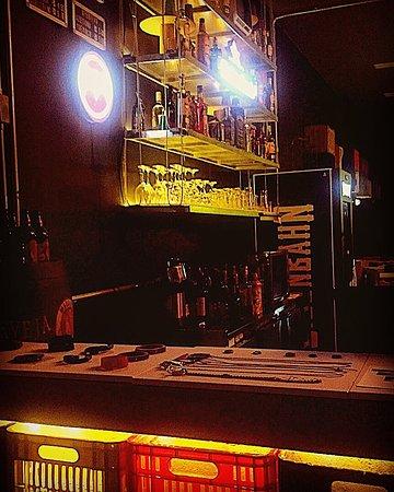 balcão do caixote bar em sp