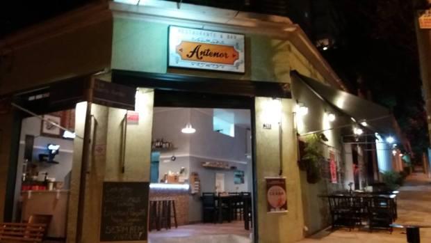 fachada do atual antenor bar e restaurante