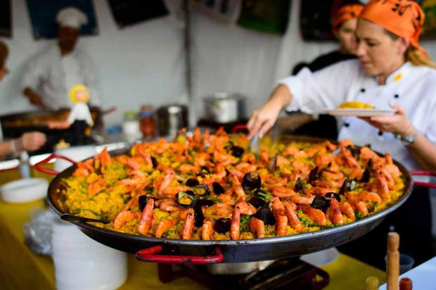 festa do imigrante paella