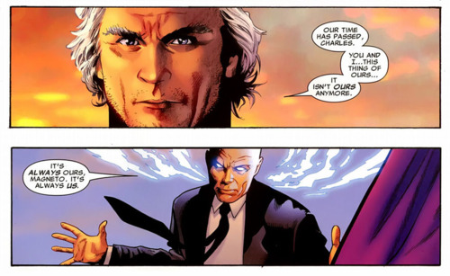 Magneto and Xavier