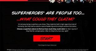 superheros-personal injury lawsuit