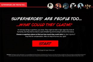 superheros-personal injury lawsuit