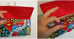 Geeky Pleasures Shop Girl Power Wristlet Inside