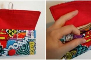 Geeky Pleasures Shop Girl Power Wristlet Inside