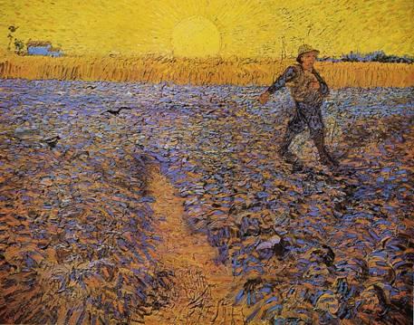 Vincent Van Gogh – Le semeur, juin 1888, Kröller-Müller museum, Otterlo