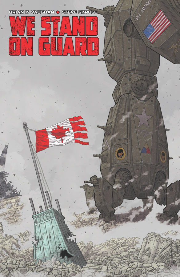 We Stand On Guard #1 Image Comics