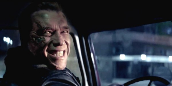 This smile is actually one of the best things in 'Terminator: Genisys.' Image: Paramount Pictures