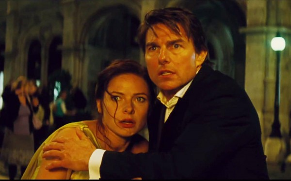 Number of 'Mission: Impossible' movies. Tom Cruise: 5. Any actress: 1. Image: Paramount Pictures.