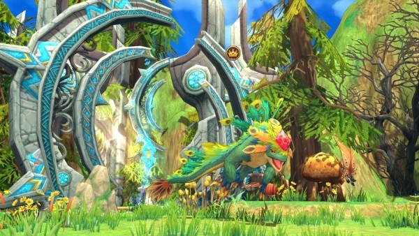 Dragomon-Hunter-Viridian-Forest