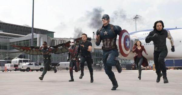 Team Captain America. Image: Walt Disney Studios Motion Pictures