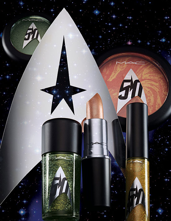 MAC Star Trek Cosmetics