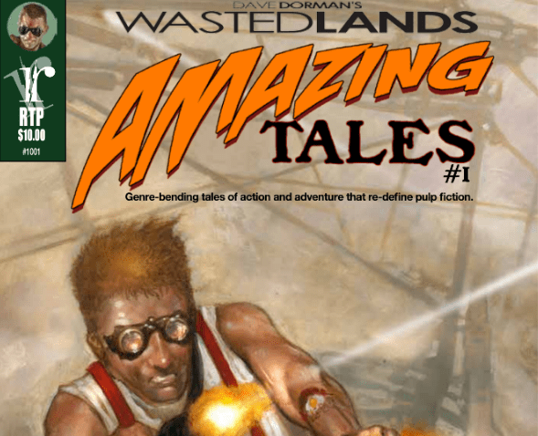amazing tales of the waste lands - dave dorman
