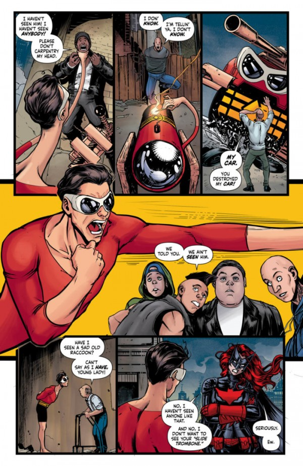 plastic man #2 panels