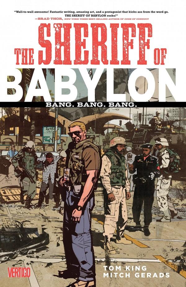 the sheriff of babylon - tom king