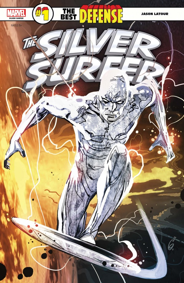 silver surfer - the best defense 1