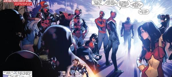 spider-man spider-verse spider-army