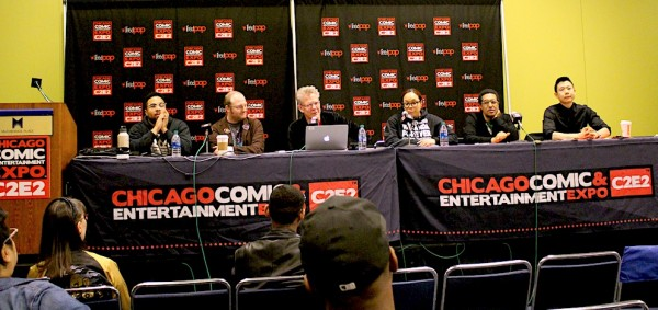 Black Panther panel at C2E2