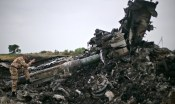 Malaysia Airlines Boeing 777 crash site in Donetsk Region