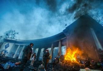 Dicembre, Kiev.