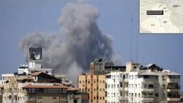 Il bombardamento Usa sul nord dell'Iraq è intenso.