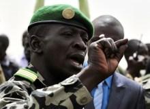 Il capitano Amadou Sanogo, comandante delle truppe golpiste.