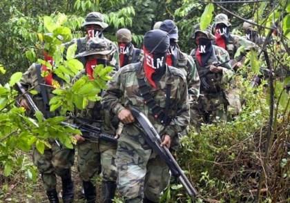 Miliziani dell'Esercito di liberazione nazionale.