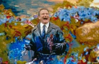 Al di là dei sogni, regia di Vincent Ward (1998) «Mi dispiace, piccola, ci sono delle cose che devo dirti e mi restano solo pochi momenti. Mi dispiace per tutto ciò che non potrò mai darti non ti comprerò mai un hamburger gigante a quattro piani, niente supermega. Non ti farò mai sorridere. Volevo soltanto invecchiare insieme a te come due vecchie tartarughe che ridono contandosi le rughe insieme, al capolinea, sul lago del tuo dipinto, quello era il nostro Paradiso. Abbiamo molto da perdere: libri, pisolini, baci e litigi o Dio ne abbiamo avuti di straordinari dei quali ti ringrazio e grazie di ogni gesto gentile. Grazie per i nostri figli per la prima volta che li ho visti e per avermi sempre fatto sentire orgoglioso di te. Per la tua forza, per la tua dolcezza per come eri e come sei per come ho sempre desiderato toccarti, Dio eri tutta la mia vita! E ti chiedo scusa per tutte le volte che ho fallito con te,specialmente questa».