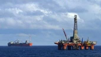 Una piattaforma di petrolio al largo delle coste somale.