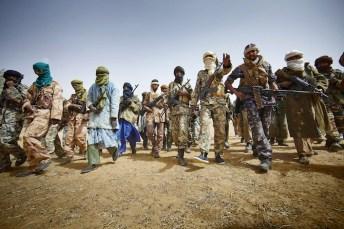Guerriglieri tuareg.